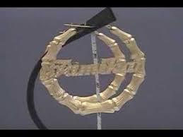 Name Hoop Earrings 10k Gold Personalized Name Bamboo Hoop Earrings 3 Inch Youtube