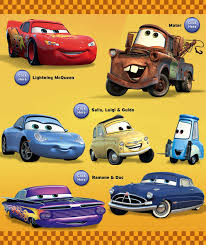 cars characters yellow worhpacitol disney pixar cars characters pictures