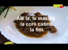 cabri massalé cuisine réunionnaise massalé la coré cabris by bobeche
