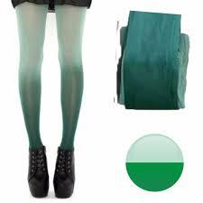 imagenes medias verdes panty medias veladas degradee verde manzana moda leggins