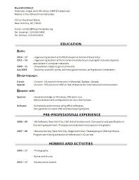 new graduate u2013 free cv template dot org