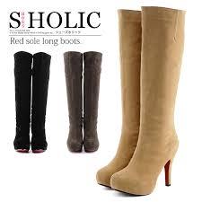 womens knee high boots size 11 shoesholic rakuten global market knee high boots beautiful