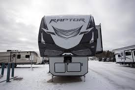 keystone raptor 398ts 5th wheel toy hauler for sale