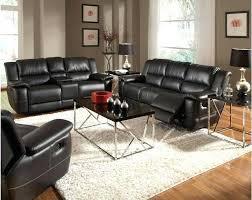 Sofa Loveseat Recliner Sets Black Leather Recliner Sofa Loveseat Reclining Sofas Sets Couch
