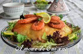 pastilla au poisson et fruits de mer amour de cuisine