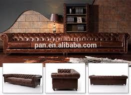 canap style chesterfield vintage en cuir classique européenne style chesterfield canapé