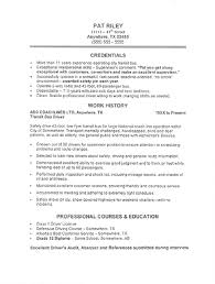 Cdl Resume Sample by Resume Samples Cdl Bus Driver Resume