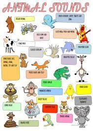 23 free esl animal sounds worksheets