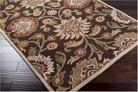 Chocolate Brown Area Rugs Caesar Cae 1051 Chocolate Coffee Bean Area Rug