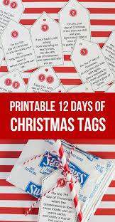 sweet u0026 simple 12 days of christmas printables so festive