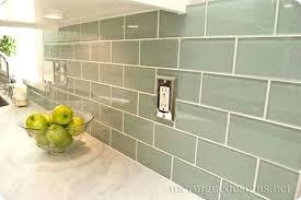 glass mosaic tile kitchen backsplash ideas kitchen backsplash green fitbooster me