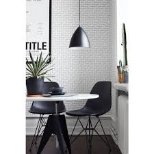 Non Permanent Wallpaper Nuwallpaper Grey And White Brick Peel And Stick Wallpaper Nu1653