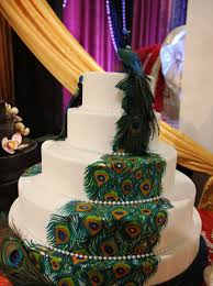 peacock wedding cakes best of cake