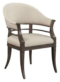 Armchair Upholstered Hamilton Armchair Upholstered Back Traditional Transitional Mid