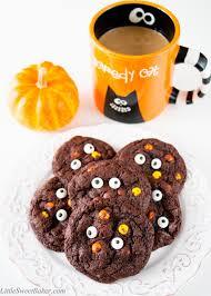 halloween reese s reese u0027s double chocolate halloween cookies little sweet baker