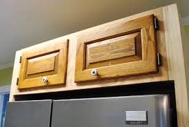 How To Finish The Top Of Kitchen Cabinets Cutting Down A Few Cabinet Doors To Fit Young House Love