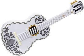 disney pixar coco guitar white toys