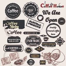 coffee labels with ornaments vector 05 vector label vector