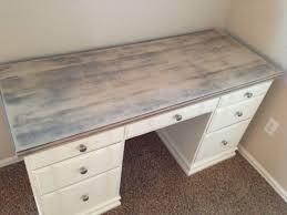 Ana White Sawhorse Desk White Washed Desk Ana 1x3 Whitewashed Sawhorse Diy Pertaining To