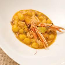 dombrés aux fruits de mer je cuisine créole