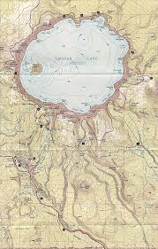 Us Map Topography Maps Of Crater Lake National Park Trails Park Historic Road