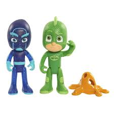 amazon play pj masks figure pack gecko night ninja