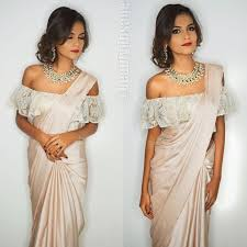 the shoulder blouses the shoulder blouse for saree blouses tops fall