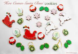 good things by david u0027here comes santa claus u0027 cookies
