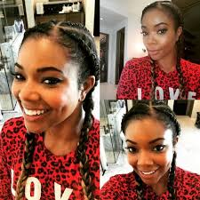 ghanaian hairstyles gabrielle union rocks ghana braids looks 10 years younger