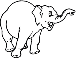 elephant trumpeting clipart 17