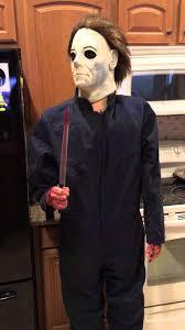 Mike Myers Halloween Costume Lifesize Michael Myers Halloween H20 Gemmy Animatronic Demo Prop