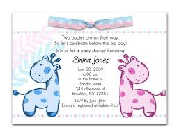 themes twin boy baby shower invitation templates with twin boy