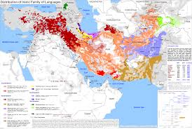 Persia Map Iran Ethnic Map 1997 Maps U0026 Cartographic Material Pinterest