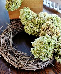 hydrangea wreath wreath ideas how to make a hydrangea wreath