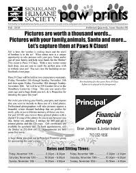 humane society black friday newsletter siouxland humane society