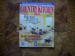 better homes u0026 gardens country kitchen ideas magazine fall winter
