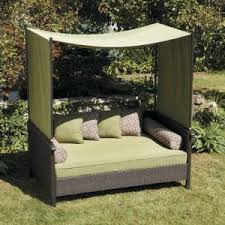 outdoor canopy bed outdoor daybeds hayneedle