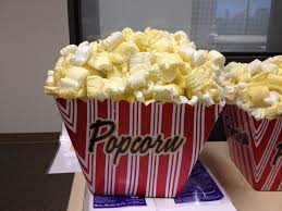 popcorn for halloween how to make fake popcorn craft ideas pinterest popcorn