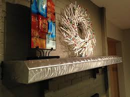 Floating Fireplace Mantels by Amazon Com Stainless Steel Fireplace Mantels Stainless Steel