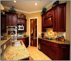 kitchen wall paint ideas with cherry cabinets kitchen wall paint