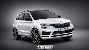 x tomi design renders rs and monte carlo versions of the skoda karoq