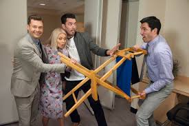drew and jonathan scott design live with kelly and ryan dressing rooms