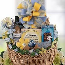 dog gift baskets pet and owner gifts