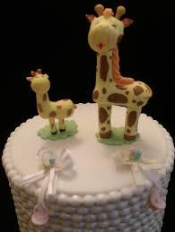 giraffe cake toppers giraffe baby shower favor baby shower cake