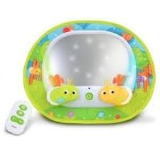 baby car mirror with light munchkin baby in sight magical fire fly mirror amazon co uk baby