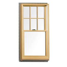 andersen 27 5 in x 41 5 in 200 series double hung wood window