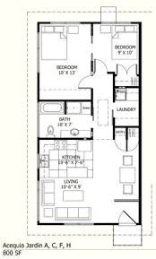 700 To 800 Sq Ft House Plans 700 Square Feet 2 Bedrooms 1 House Plans 800sqf