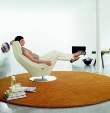 Comfortable Reclining Chairs From Rofl Benz - Designer reclining chairs