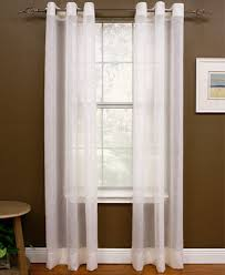 Drapes With Grommets Miller Curtains Sheer Preston Grommet Window Treatment Collection