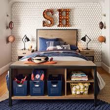 Pb Teen Bedrooms Morgan Storage Bed Pbteen